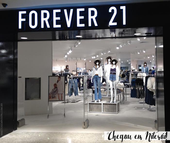 2aecb835cf2 Pré-inauguração da Forever 21 em Niterói