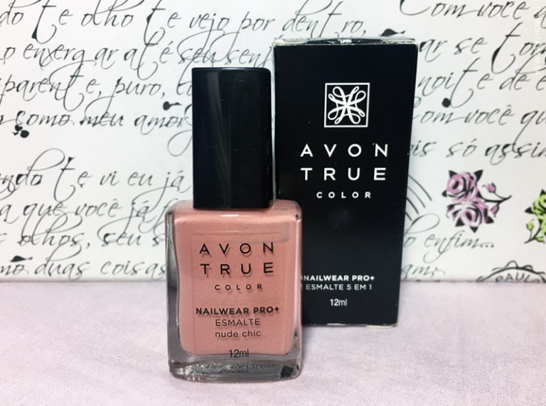 Avon True Color BB Nail Enamel Restoring Beige Swatch
